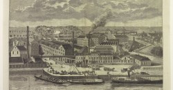 Gistfabriek Delft eind 19e eeuw